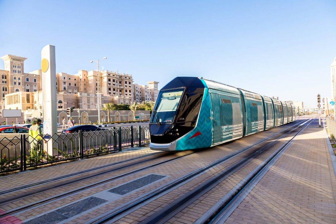 Al Sufouh Dubai Tram