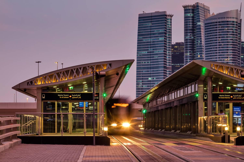 Al Sufouh Dubai Tram 3
